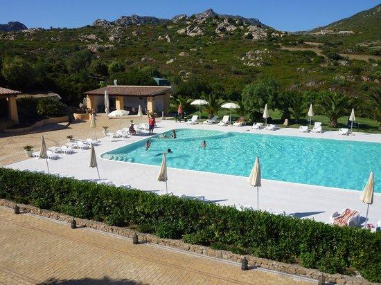 La Fenice Resort : La Fenice's (freezing cold) pool