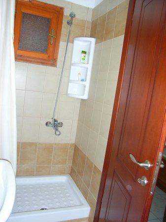 Hotel Argo: Dusche