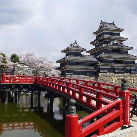 Matsumoto Castle: a nice photoshot of the castle