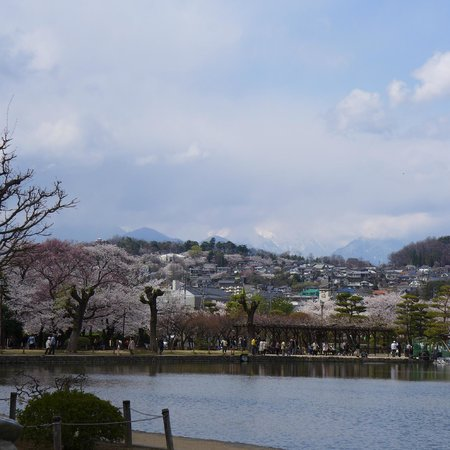 looking thru the front gate of the Matsumoto Castle