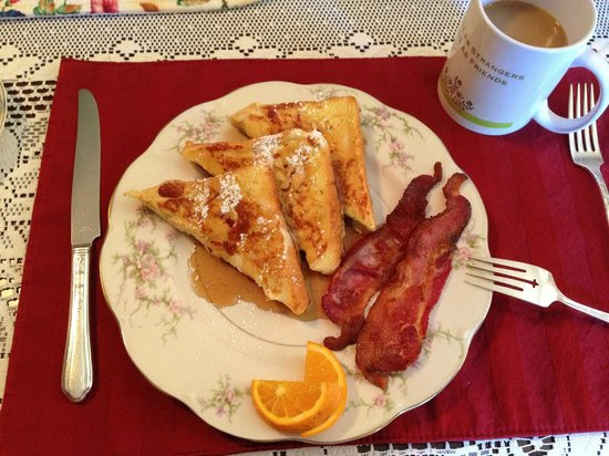 Florence Rose Bed and Breakfast : What a breakfast!