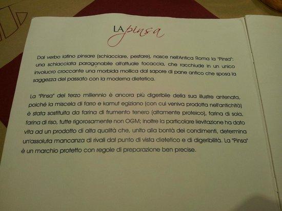 Sarzana, อิตาลี: Ecco cos'è la Pinsa
