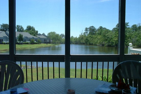 The Resort at Fairfield Harbour: view from screened porch