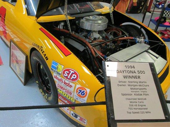 City Garage Car Museum : 1994 Daytona 500 Winner (Sterling Marlin)