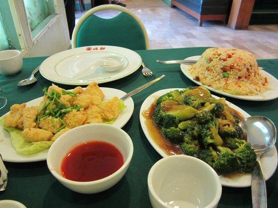 Emerald Garden: meal