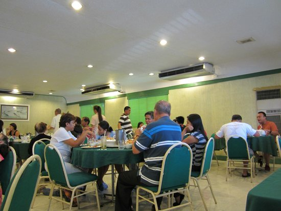 Emerald Garden: dining area
