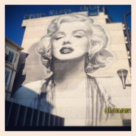 BEST WESTERN Cannes Riviera & Spa: Facciata laterale