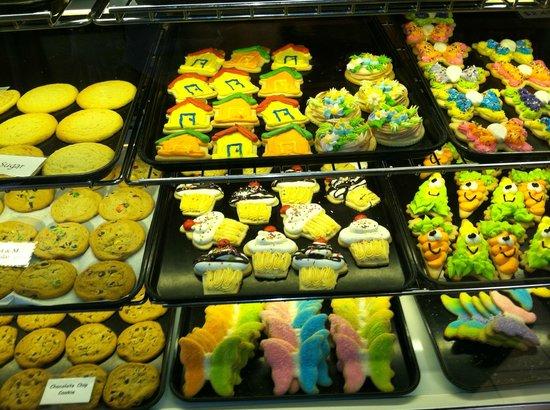 Hanisch Bakery and Coffee Shop: Wonderful cookie assortment