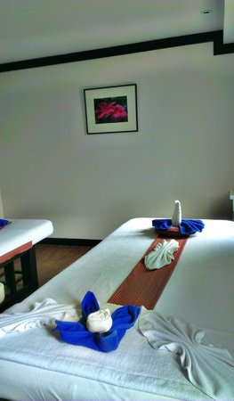 Orientala spa: Private room at 2nd floor
