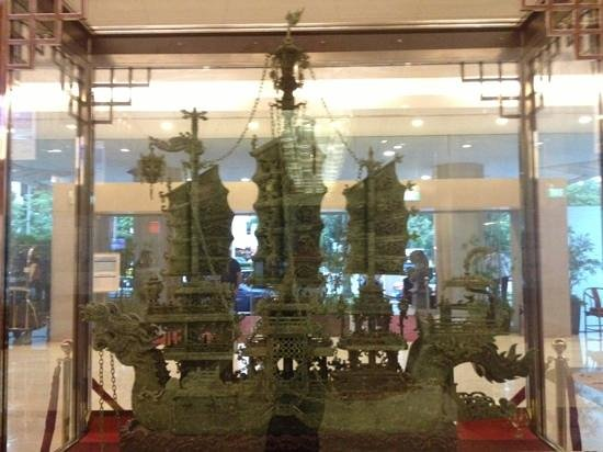 Four Points by Sheraton: display in the hotel lobby