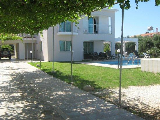 Amalthia Villas: Villa from drive