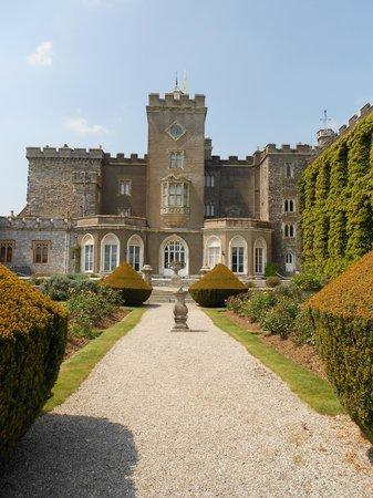 Powderham Castle : The original main entrance taken from the rosse garden
