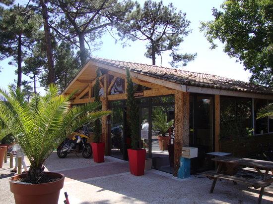 Camping Club d'Arcachon : reception