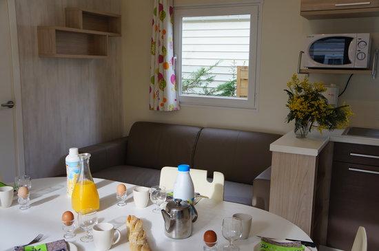Camping Club d'Arcachon : mobil home prestige