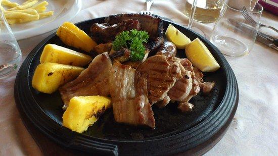 """Valleverde: La portata """"Selezione di carne"""""""