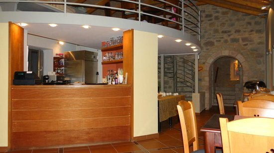 Taleton Sparti Country House: The cuisine in the lobby