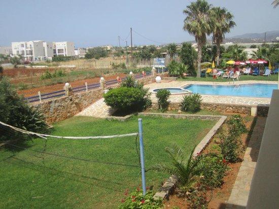 Cretan Family: campo da pallavolo e piscina
