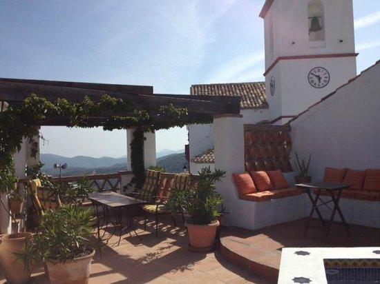 Hotel Los Castanos: Roof terrace @ Los Castanos