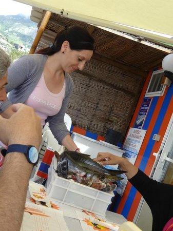 Bagno Bar Viola: pesce freschissimo