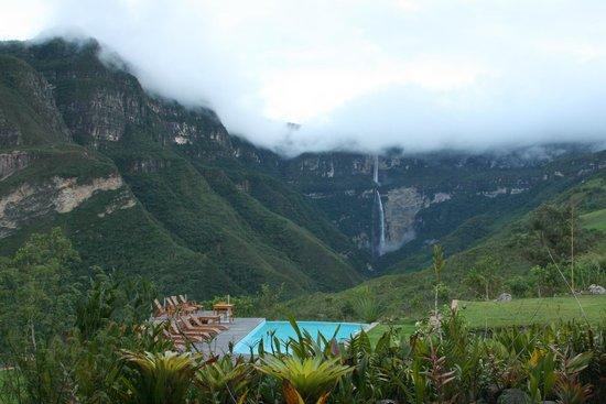 Gocta Andes Lodge: Le lodge vu de haut