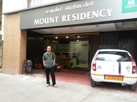Mount Residency: Hotel Front
