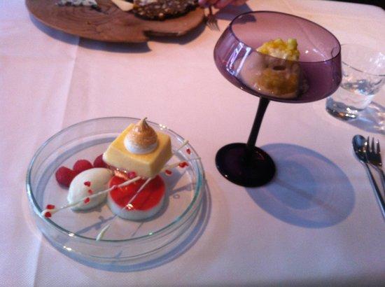 De Eetkamer Middelburg : Het dessert van de 4 gangen lunch ter ere van het 20 jarig bestaan