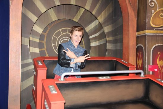 Grevin Museum Belmont Park Justin Beiber Ruby Roy Photo
