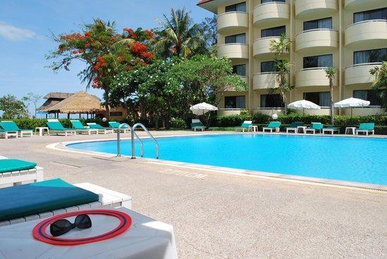 Beach Garden Hotel: Das Hotel mit dem Pool