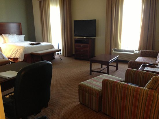 Hampton Inn & Suites Baton Rouge - I-10 East: Huge suite