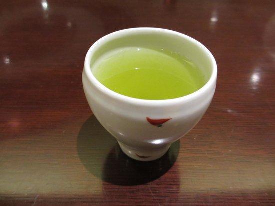 Maruya Honten Meiekiten : 食後の深蒸し煎茶