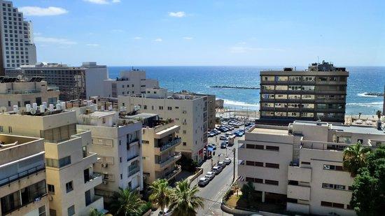 Hotel Prima City, Tel Aviv: Fensterblick