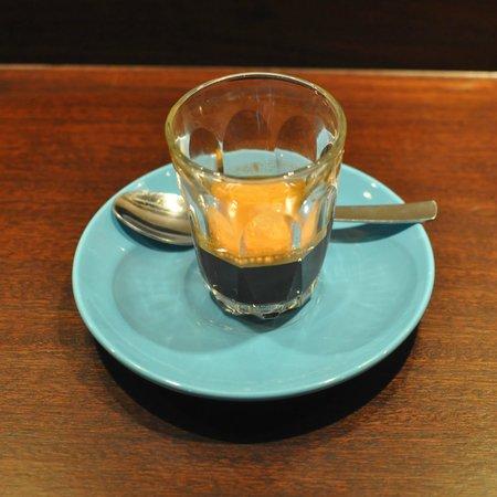 A very fine espresso from Caffeine & Co