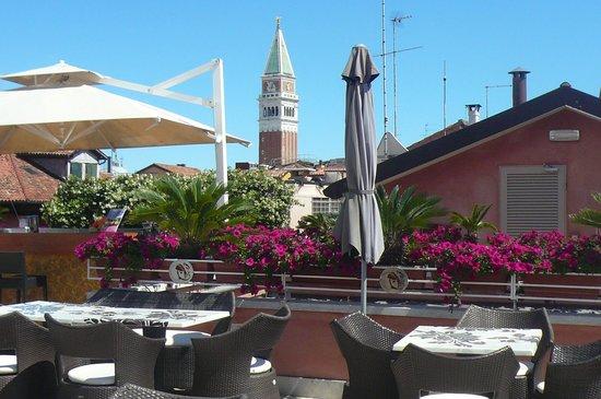 Hotel a La Commedia: het dakterras