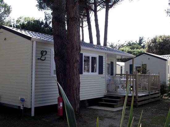 La Grainetiere Camping : le mobil-home