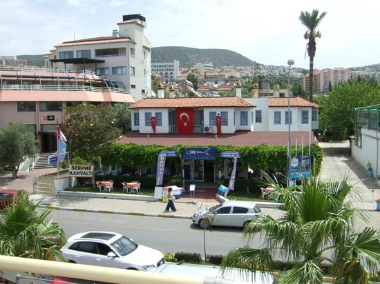 Selam restaurant opposite the marina shopping  centre