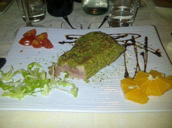 Ristorante La Cambusa: filetto di tonno