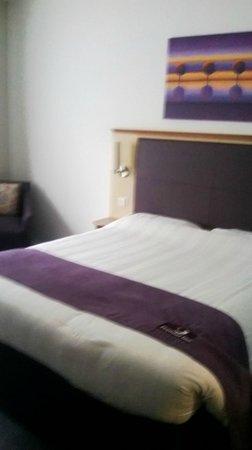 Premier Inn Harwich Hotel: Bedroom