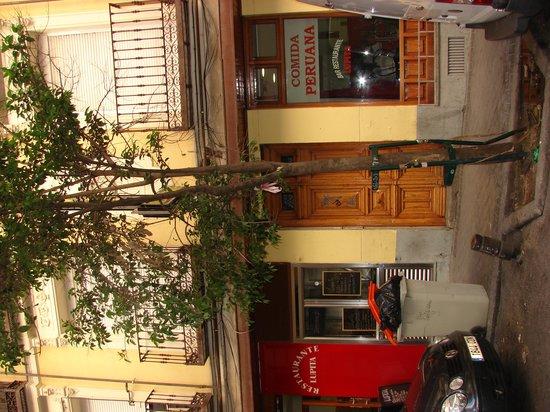 Good Stay Madrid: il portone del palazzo