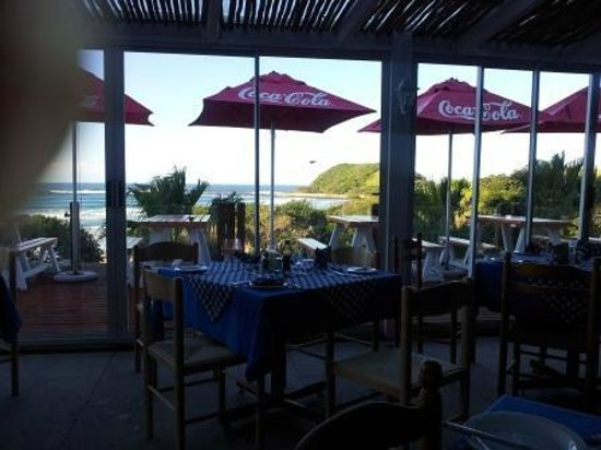 Ocean View Hotel : View from the dining room
