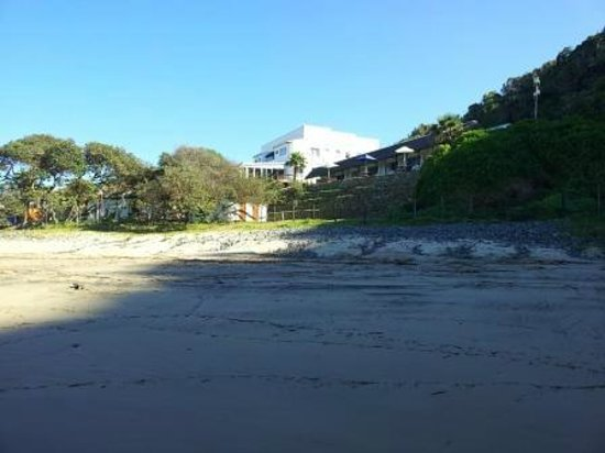 Ocean View Hotel: From the beach