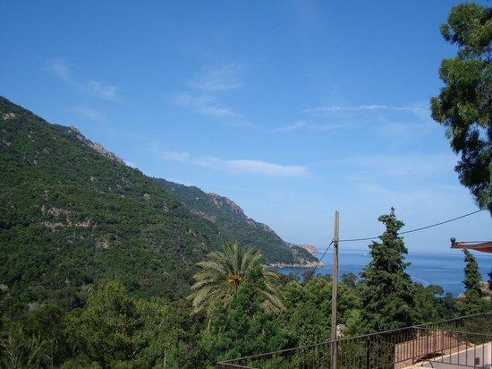 Hotel Bella Vista : vue de la chambre (vers la mer)