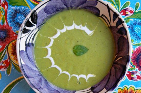 La Morenita : Sopa de calabaza buchona.