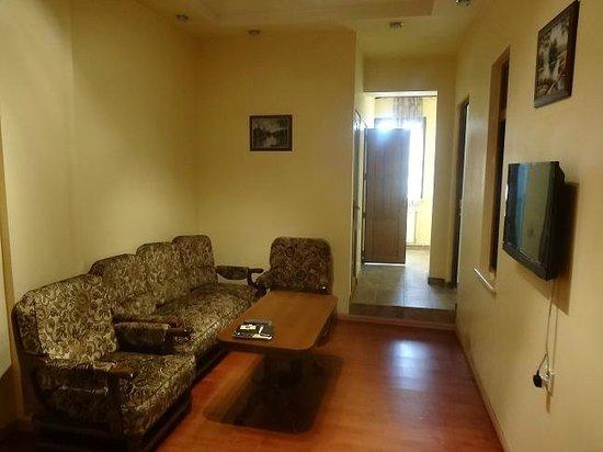 Yerevan Hostel: Room 1 Living Room