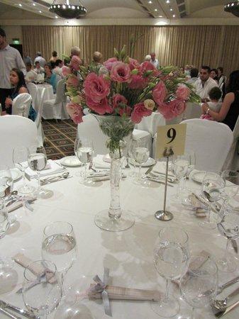 Hilton Cyprus  -wedding dinner
