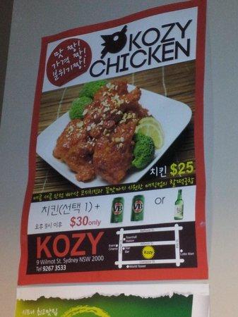 Kozy Resturaunt