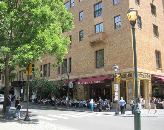 Philly Phlash Parc Restaurant Rittenhouse Square