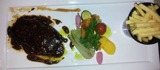 Hotel Le Rivage - Lutry : Swiss beef ! wine sauce.. .exquisite