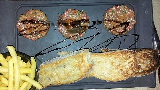 Hotel Le Rivage - Lutry : Home made tartare.... spicy as we like