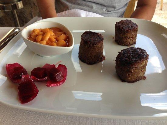 Seki Restaurant: Veal cheek entree