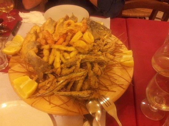 Nu Murzill Sapurito: la magica frittura di pesce